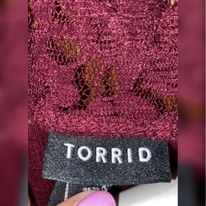 torrid Tops - Torrid Lace Top Shirt